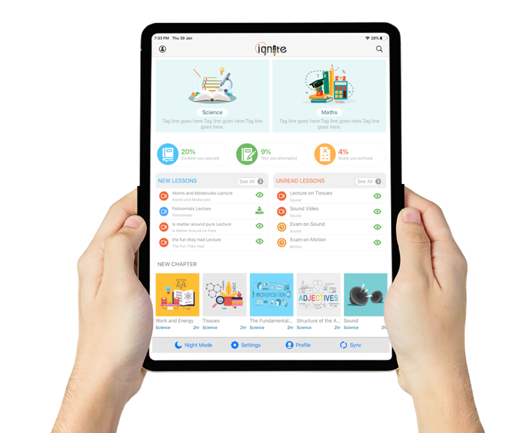 iGnite remote learning app for schools