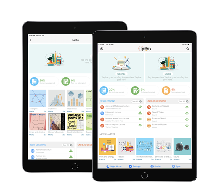 iGnite is the most flexible, customisable and affordable e-learning solution made for schools and educational institutions by Ridham Enterprise.